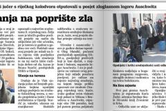 Novi list Auschwitz 2018.