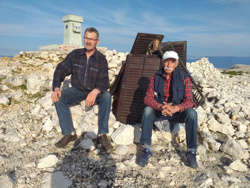 Zdravko i Nikola na vrhu