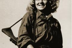 101. Mlada dalmatinska partizanka iz Sutivana 1943.